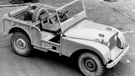 Nr.1 Primul Prototip Land Rover 1947