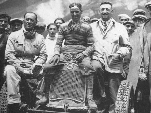 Enzo Ferrari & Tazio Nuvolari