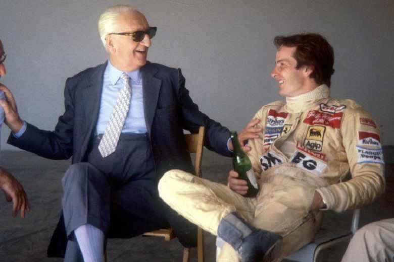 Enzo Ferrari & Gilles Villeneuve