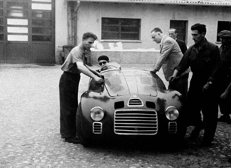 Enzo Ferrari La Primele Teste Cu Modelul 125S