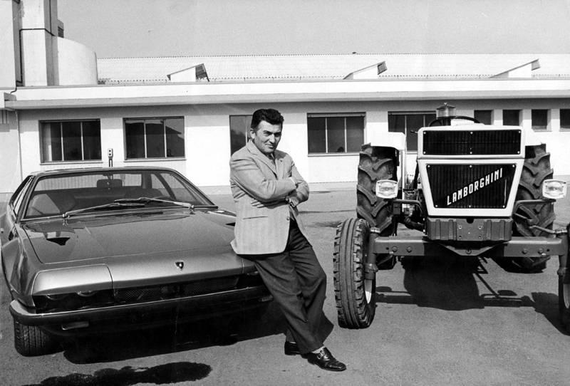 Ferruccio Lamborghini 1970