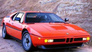 BMW M1 Prima Poza