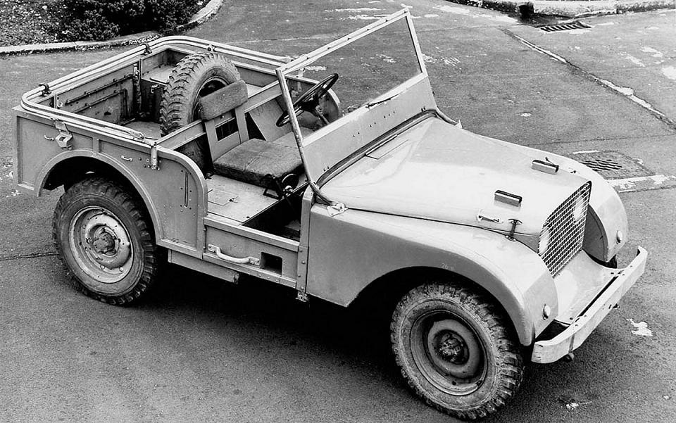 Primul prototip Land Rover 1947