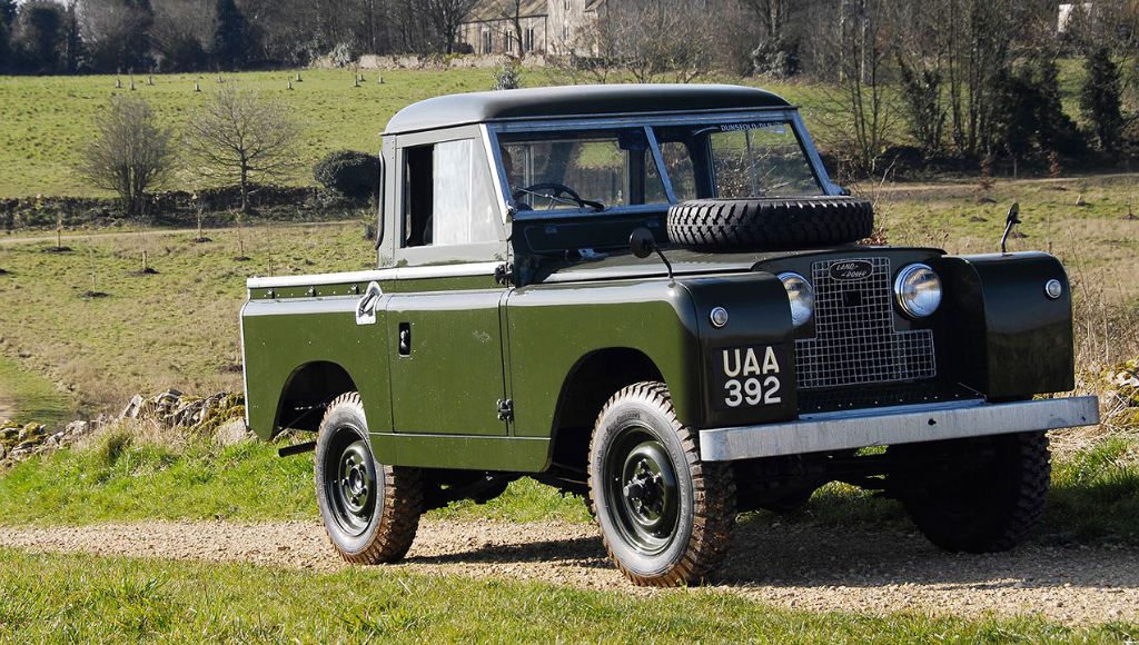Land Rover Seria II Pick-up