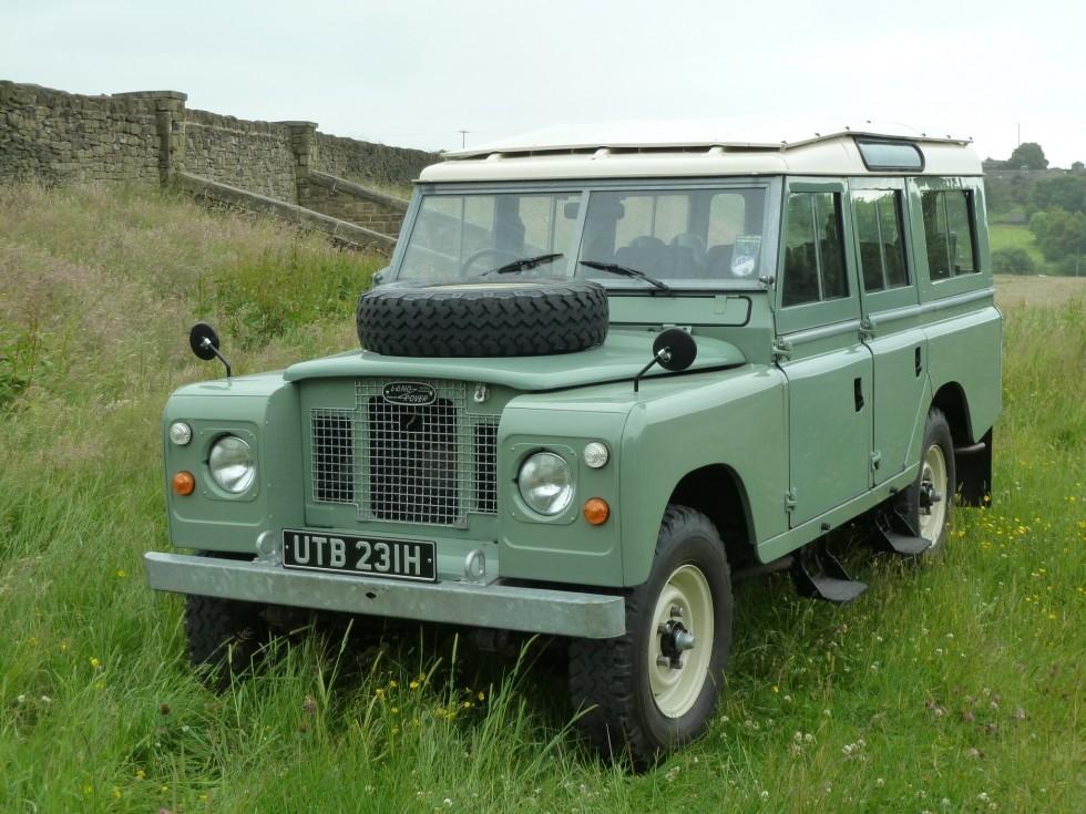 Land Rover Seria II A