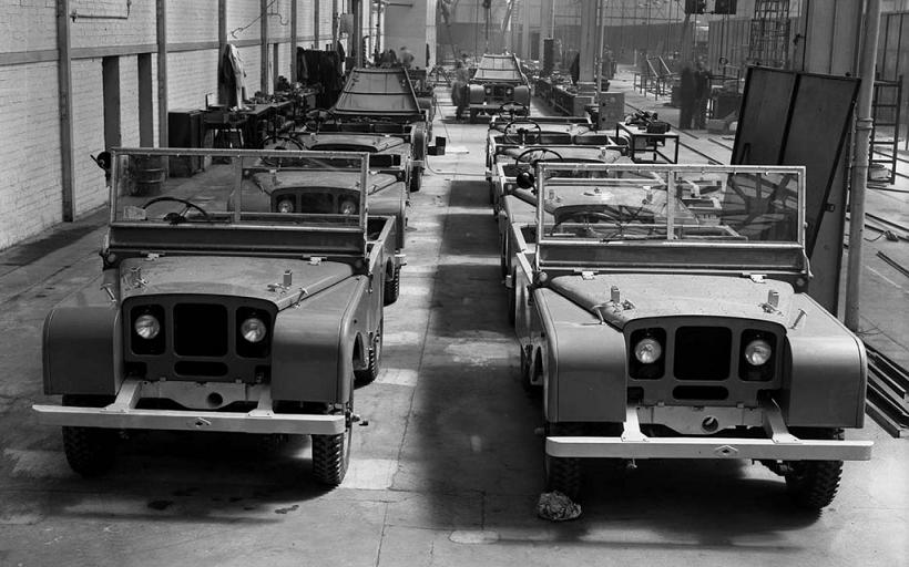 Fabrica Land Rover 1948