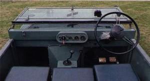 Cockpit Land Rover Seria I