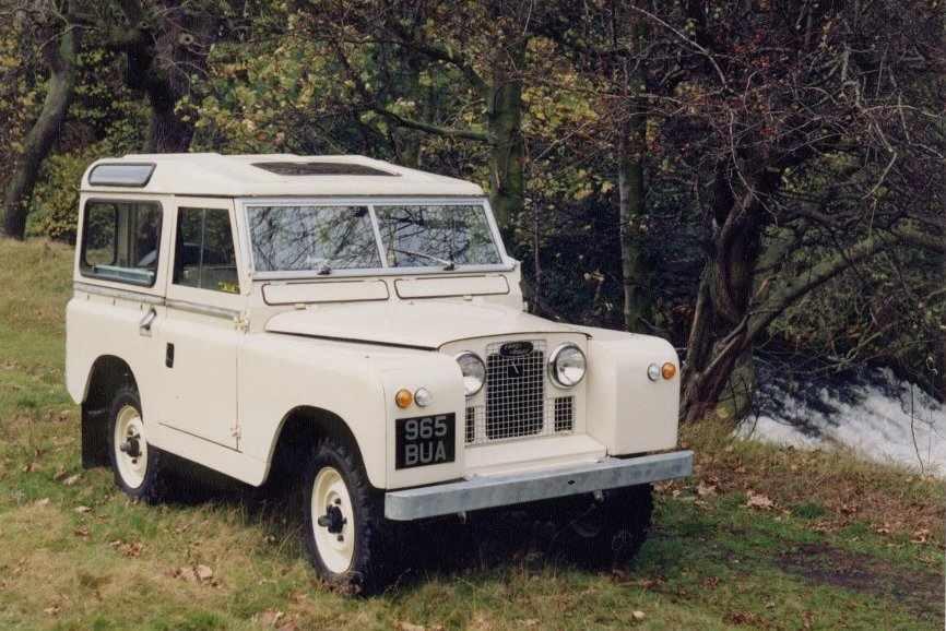 Land Rover Seria II
