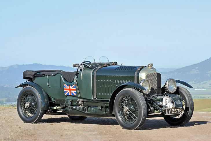 Bentley 4.5 Litre Blower