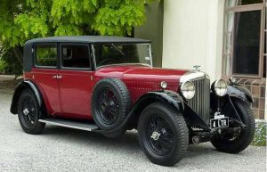 Bentley 4 litre H.J. Mulliner Saloon