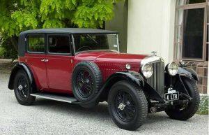 Bentley 4 litre H.J. Mulliner Saloon