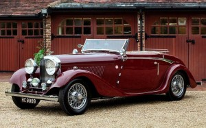 Bentley 3.5 Litre Drophead Coupe 1934