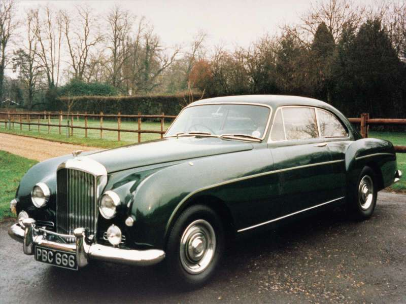 Bentley S1 Continental Coupe Mulliner 1956