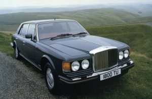 Bentley Mulsanne 1990