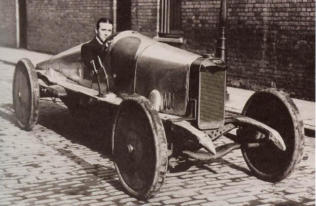 W.O. Bentley & L8 cu motor DFP