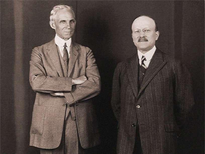 Henry Ford & Andre Citroen