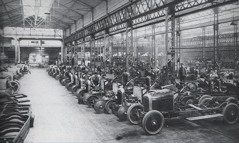 Fabrica Citroen din Javel anii '20