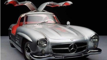 Mercedes 300 SL O Legenda