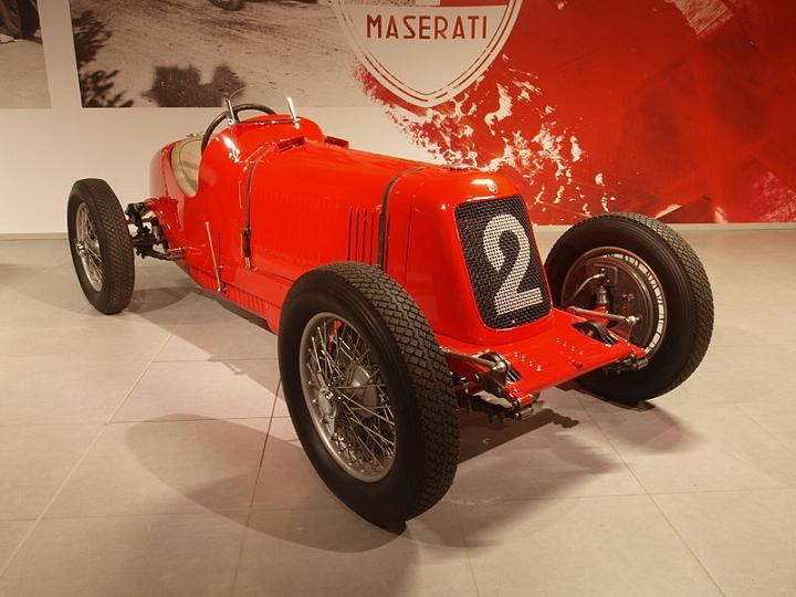 Maserati 4CM 2000 1933
