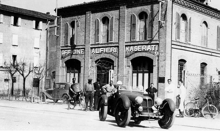 Officine Alfieri Maserati 1935