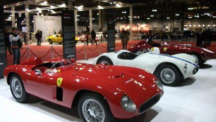 Ferrari 500TR Maserati A6CGS 53 Ferrari 340 MM Scaglietti