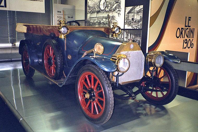 ALFA 24 HP Torpedo Castagna 1910