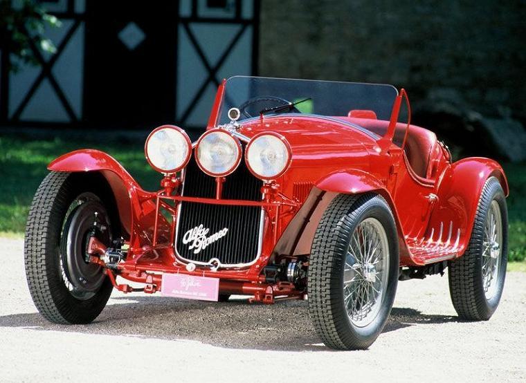 Alfa Romeo 8C 2300 Spider Sport 1931