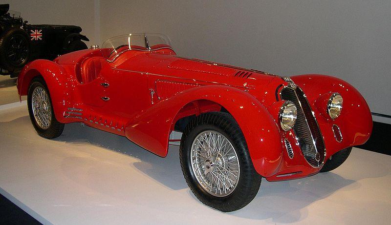Alfa Romeo 8C 2900 Mille Miglia 1938
