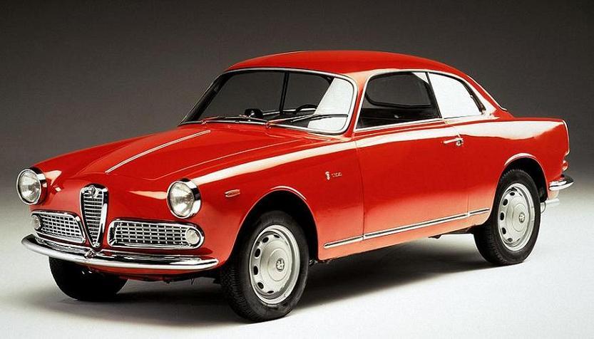 Alfa Romeo Giulietta Sprint 1959