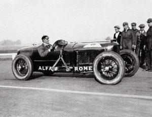 Alfa Romeo P2 & Tazio Nuvolari