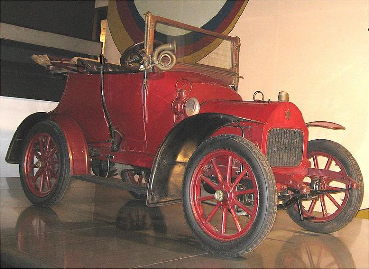 Darracq 8-10 HP 1908 - varianta italiana