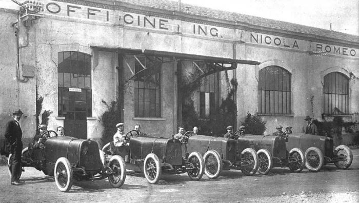 Fabrica Officine Ing. Nicola Romeo & Alfa Romeo 20-30HP Corsa