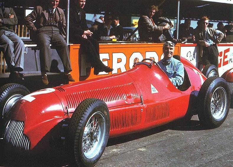 Nino Farina campion mondial in 1950 cu Alfa Romeo 158