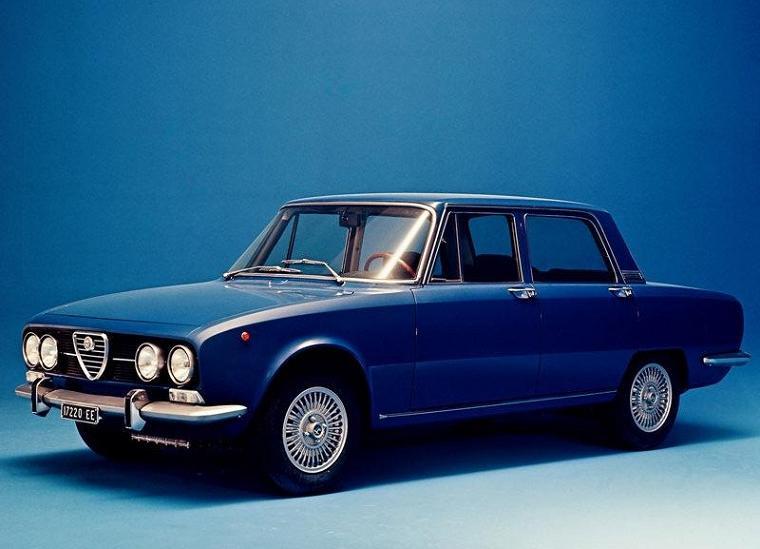 Alfa Romeo 2000 Berlina 1971
