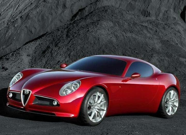 Alfa Romeo 8C Competizione Concept Car 2004