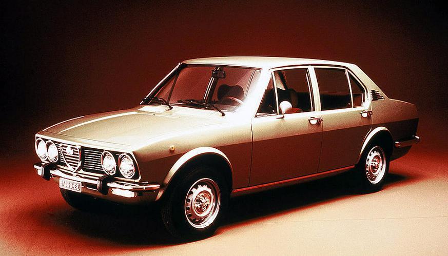 Alfa Romeo Alfetta Berlina 1972