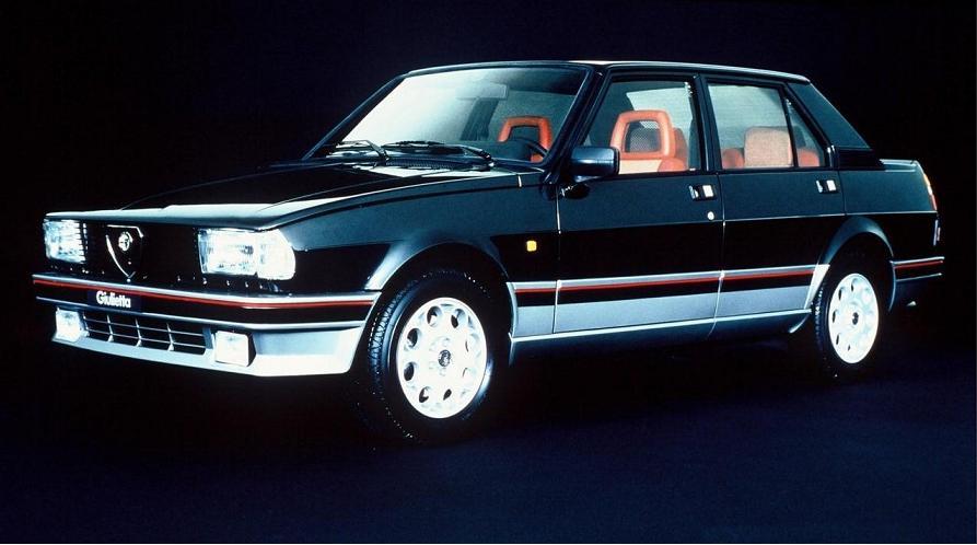 Alfa Romeo Giulietta Turbodelta 1982