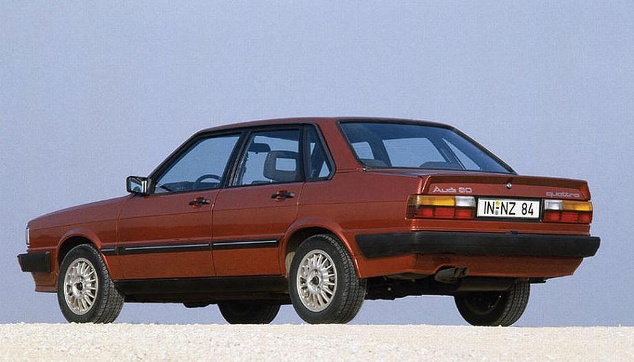 Audi 80 Quattro 1982