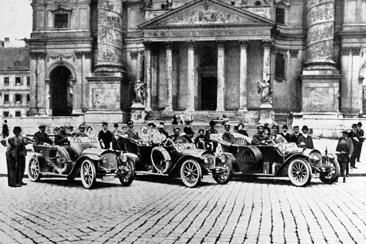 Audi Typ A Cursa Alpenfahrt 1911