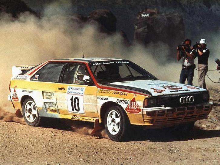 Audi Quattro Rally grupa B