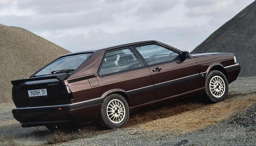 Audi Coupe Quattro 1985