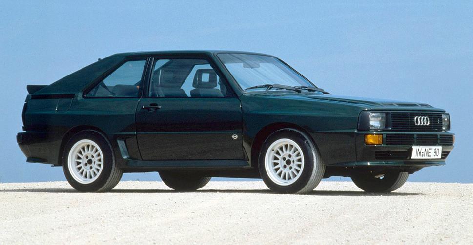 Audi Quattro Sport 1984