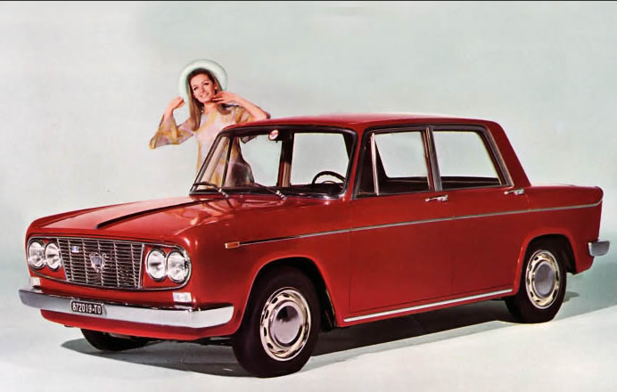 Lancia Fulvia Berlina 2C - 1964