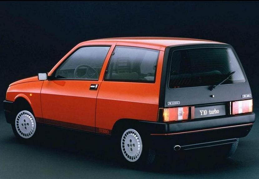 Lancia - Autobianchi Y10 Turbo -1986