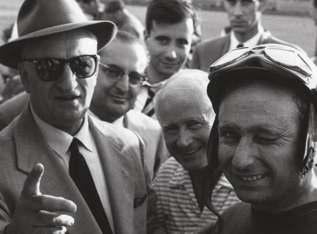 Enzo Ferrari & Juan Manuel Fangio