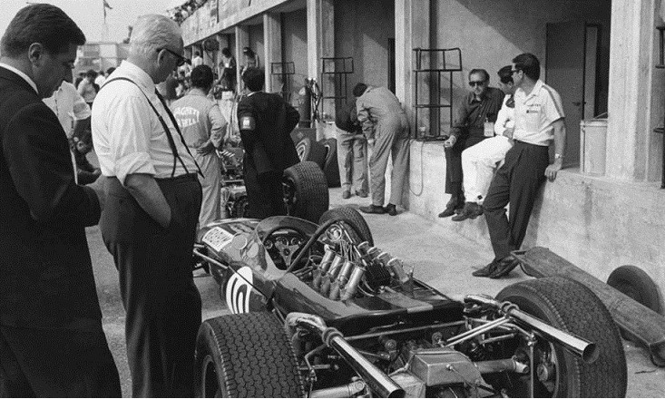 Enzo Ferrari Anii 60