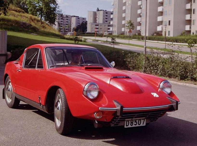SAAB Sonett II - 1967