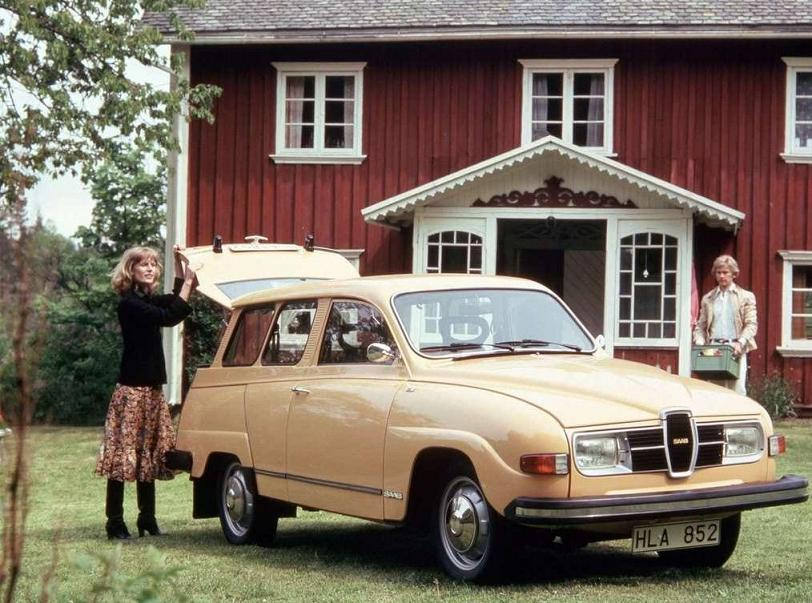SAAB 95 - 1968
