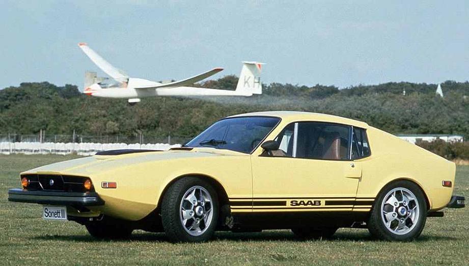 SAAB Sonett III - 1970