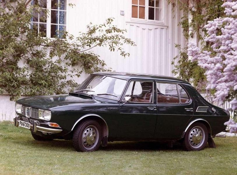 SAAB 99 Sedan - 1970